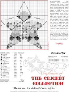 Reproducible for noncommercial use by permission of The Cross-Eyed Cricket Inc. MAY 2014 http://www.cecricket.com