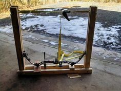 DIY bow press for complete takedown?