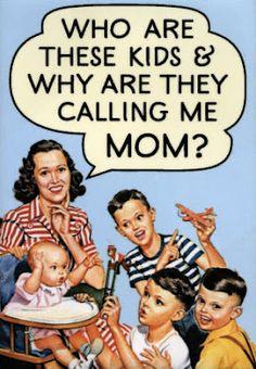 **FREE ViNTaGE DiGiTaL STaMPS**: Free Vintage Images - Retro Mom Humor
