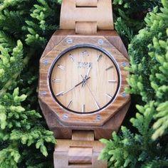 dřevěné hodinky Macis od TimeWood