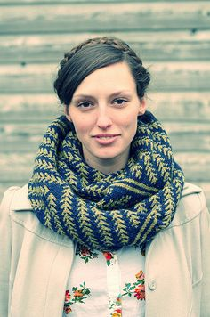 Pine Bough Cowl  by Dianna Potter