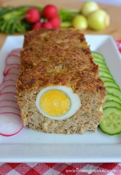 Polish Recipes, Meatloaf, Chicken Recipes, Food And Drink, Easter, Meals, Kitchen, Asia, Chicken