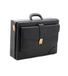 GUCCI VINTAGE ATTACHE CASE  (BIG CLUTCH BAG IS ATTACHED ON THE ATTACHE CASE !)