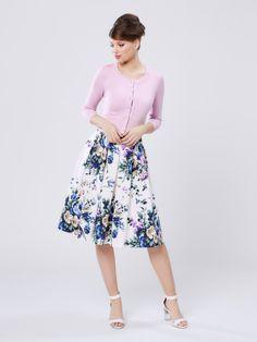 Classy Girl, Review Fashion, Office Looks, High Heel, Spring Fashion, Knitwear, Cardigans, Midi Skirt, Twin