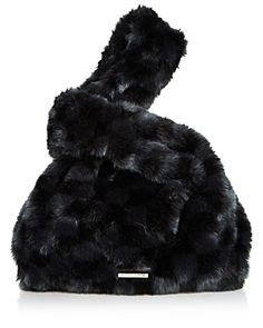 KENDALL AND KYLIE KENDALL AND KYLIE MICHELLE FAUX FUR HOBO. #kendallandkylie #bags #shoulder bags #fur #hobo #