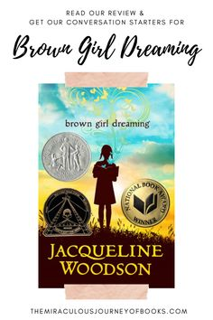 Check out our review of Brown Girl Dreaming. Plus, find out what we think parents should know about the book, and use our conversation starters for talking about it with your child or in the classroom. #browngirldreaming #diversity #reading