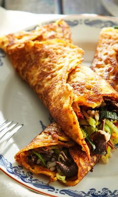 Porkkanaohukaiset ja sienitäyte   Maku Vegetable Recipes, Vegetarian Recipes, Healthy Recipes, Easy Cooking, Cooking Recipes, Eat Lunch, Everyday Food, I Love Food, Soul Food