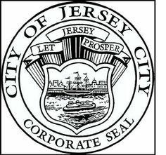 City of Jersey City Corporate Seal - Let Jersey Prosper