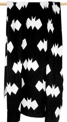 Geo Bat Blanket