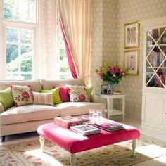 fe753a7c2 Permanent Link to : Romantic Feminine Living Room – Romantic Room Interior  Design Decorations Ideas