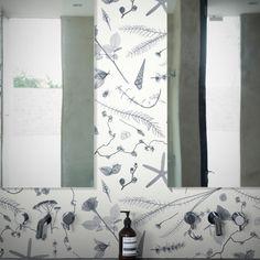 A beachside hedgerow, deconstructed by Hugh Turvey's X-ray studio . Wall Wallpaper, Pattern Wallpaper, Modern Floral Wallpaper, Floral Wallpapers, Newsletter Design, Perfect Wallpaper, Elle Decor, Designer Wallpaper, Modern Luxury