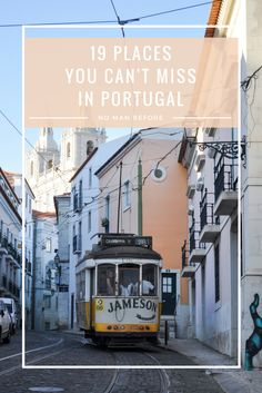 After spending the summer in Portugal, we've created the Ultimate Lisbon Bucket List. Find the best things to do in Lisbon, conveniently organized by neighborhood. Portugal Travel Guide, Europe Travel Guide, Portugal Trip, Portugal Vacation, Travel Tips, Spain Travel, Travel Ideas, Travel Destinations, Visit Portugal