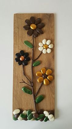 Trendy Ideas For Rock Art Diy Ideas Stones Pebble Painting, Pebble Art, Stone Painting, Stone Crafts, Rock Crafts, Arts And Crafts, Pebble Stone, Stone Art, Rock Flowers