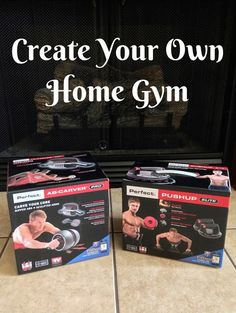 Create Your Own Home Gym - Perfect Fitness Ab Carver Pro & Perfect Fitness Perfect Push Up Elite