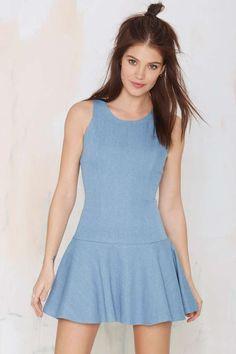 Got Good Jeans Denim Dress | Shop Dresses at Nasty Gal