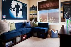 Great idea for a small space! Love It! Photo taken by Zack Benson