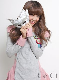 Jung Eun Ji....would love to see her wear it. But she has the idea.