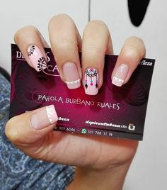 Pahola Andrea Burbano Ruales (@depiesacabeza180) | Instagram photos and videos Love Nails, Pretty Nails, My Nails, Manicure And Pedicure, Nail Spa, Nail Selection, Tribal Nails, Nail Polish Art, Cute Nail Art