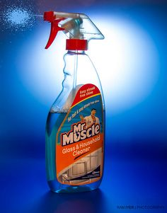 Mr. Muscle - the Cleaner | Flickr - Photo Sharing!