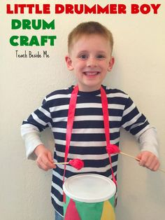 We have a favorite book that we like to read at Christmas time called The Drummer Boy by Loren Long. It is a sweet story and beautifully illustrated. This year, I thought it would be fun to make a Christmas drum craft to go along with the book. The Drummer Boy is a story about …