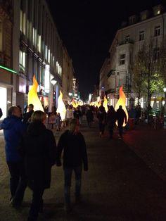 Christmas time in Karlsruhe, Germany