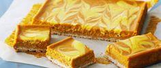 Cuadrados de calabaza y queso - Chff Anna Olson  -Prog El Gourmet. http://elgourmet.com/receta/cuadrados-de-calabaza-y-queso