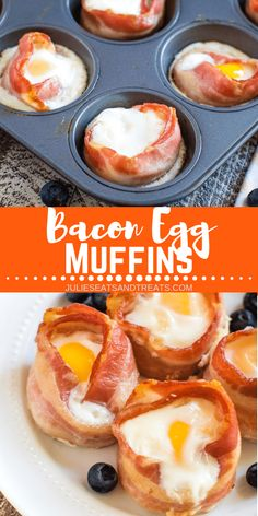 Nutritious Snack Tips For Equally Young Ones And Adults Looking For A Quick And Easy Breakfast? These Bacon Egg Muffins Are Just That Crispy Bacon With An Egg In The Middle Make The Perfect Breakfast, Lunch Or Snack Easily Portable For Breakfast On The Go Bacon Breakfast, Best Breakfast Recipes, Breakfast On The Go, Quick And Easy Breakfast, Perfect Breakfast, Breakfast Dishes, Brunch Recipes, Egg Cupcakes Breakfast, Breakfast Ideas