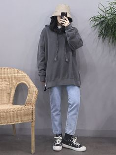 Fashion Teenage Korean Ideas - Fashion Teenage Korean Ideas The Effective Pictures We Offer You About fashion style - Korean Fashion Trends, Korean Street Fashion, Korea Fashion, Asian Fashion, Look Fashion, Boyish Outfits, Casual Outfits, Girl Outfits, Cute Outfits