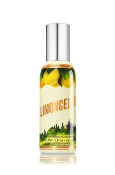 Limoncello 1.5 oz. Room Perfume - The refreshing scent of fresh Sorrento lemons, sugared mint & fresh verbena