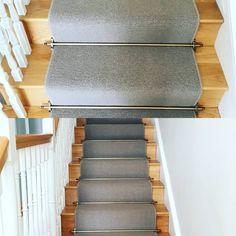Another gorgeous stair runner from Matt Britton Carpets. Stair Carpet, Carpets, Interior Design, Home Decor, Farmhouse Rugs, Nest Design, Rugs, Decoration Home, Home Interior Design