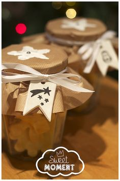 Sweet Moment | Cadeau de Noël à la maîtresse Sablés