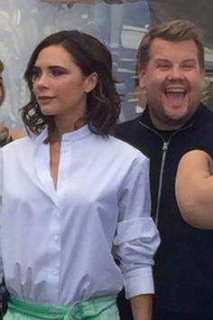 Victoria Beckham Teases Her Carpool Karaoke, and We Already Feel the Girl Power
