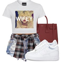 WIFEY by lovebrii-xo on Polyvore featuring polyvore moda style Yves Saint Laurent