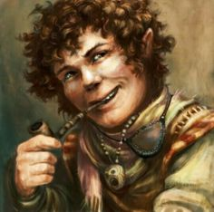 m Halfling Rogue Thief pipe portrait urban city river coastal Francis John III (FrancisJohn) - Living Pathfinder RPG Wiki
