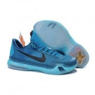 the best attitude 389ac 69580 Nike Kobe 10 Blue Lagoon Vapor Green-Black Men Basketball Shoes At www.