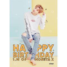 "OFFICIAL MONSTA X (@official_monsta_x) on Instagram: ""20180126 HAPPY BIRTHDAY #몬스타엑스 '#아이엠'의 생일을 축하합니다! ❤ 20180126 HAPPY BIRTHDAY Congrats #MONSTAX…"""