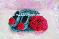 Free Crochet Patterns and Designs by LisaAuch: crochet flower