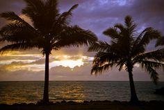 Sunrise at Si'ufaga.
