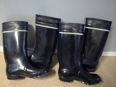 Kumisaappaat Shoe Boots, Shoes, Rubber Rain Boots, High Heels, Fashion, Natural Rubber, Shoe, Welly Boots, Moda