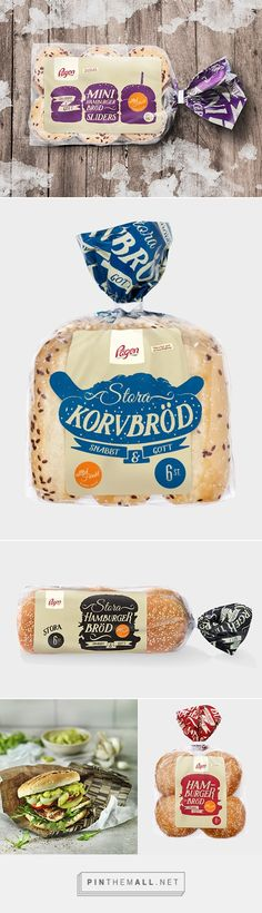 Pågen Bakery by DDB Göteborg. Pin curated by Clever Packaging, Bread Packaging, Bakery Packaging, Food Packaging Design, Plastic Packaging, Packaging Design Inspiration, Graphic Design Inspiration, Branding Design, Crea Design