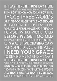 CHASING CARS - SNOW PATROL - Lyrics Print Poster A4 Size Inspiring Lana's Art & Personalised Prints http://www.amazon.co.uk/dp/B01C1EYSO6/ref=cm_sw_r_pi_dp_d5zYwb1CXEFK9