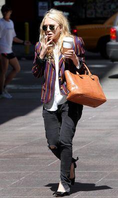 Olsens Anonymous Blog Mary Kate Olsen Statement Stripes Jacket Nyc Candid Ripped Denim Ankle Zip Louis Vuitton Heels The Row Bag photo Olsens-Anonymous-Blog-Mary-Kate-Olsen-Statement-Stripes-Jacket-Nyc-Candid-Ripped-Denim-Ankle-Zip-Louis-Vuitton-Heels.jpg
