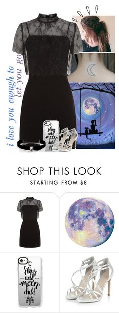 """i've got a ticket to the moon but i'd rather see the sunrise in your eyes"" by rebel-rxse ❤ liked on Polyvore featuring Sandro, Casetify, Kenneth Jay Lane and Old Navy"