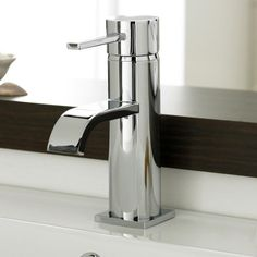Stunning contemporary design built to the high exacting standards of today's manufacturing techniques. http://www.victorianplumbing.co.uk/Ultra-Series-W-Mono-Basin-Mixer-Chrome-WTY305.aspx