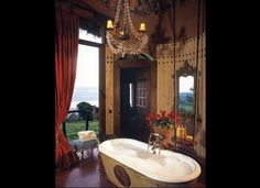 Ngorongoro Crater Lodge in East Africa - Incredible bathroom!!!