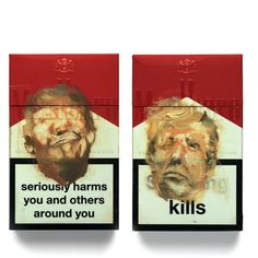 meet antony micallef, the artist painting donald trump's face on the front of cigarette packets - Safak Bekiroglu - Pinword Political Art, Political Events, Political Issues, Donald Trump Face, Protest Art, A Level Art, Thing 1, Gcse Art, Art Sketchbook