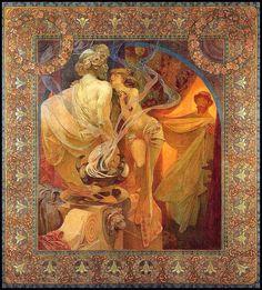Quo Vadis, by Alphonse Mucha, 1902. © Alphonse Mucha Estate-Artists Rights Society (ARS), New York-ADAGP, Paris