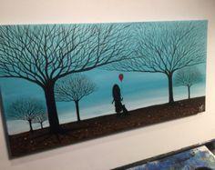 Forever bulles-16 x 20 Acrylique sur toile bois par MichaelHProsper