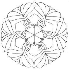 Mandala to print and draw Mandala Coloring Pages, Coloring Book Pages, Coloring Sheets, Mandala Painting, Dot Painting, Mandala Art, Embroidery Patterns, Quilt Patterns, Mandala Design