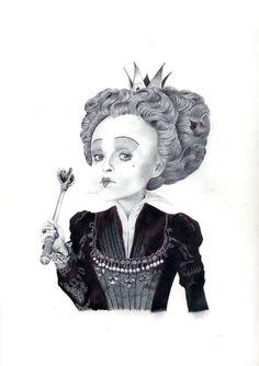 the red queen by ~LaChauveSourisDoree